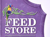 Feed Store Lorikeet Sign