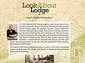 Look About Lodge Interpretive Map
